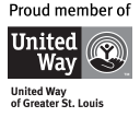 Proud Member Of United Way